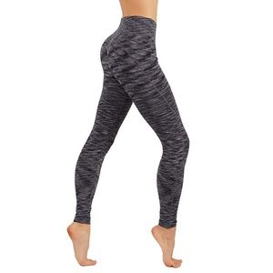 Pants - Yoga Power Flex Dry-Fit Pants Workout Two Tone